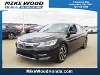 Come see this 2016 Honda Accord Sedan EX. Its Variable