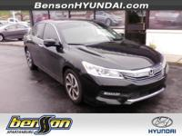 ONE OWNER and LOCAL TRADE. Accord EX w/Honda Sensing
