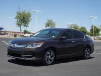 Don't miss out on this 2016 Honda Accord LX! It comes