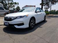 Options:  2016 Honda Accord Sed Lx|What You Can Expect