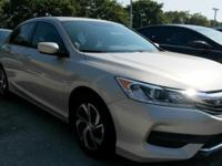 No accidents Clean Carfax, Accord LX, 2.4L I4 DOHC