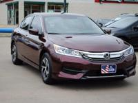 CLEAN CARFAX and HONDA CERTIFIED. Accord LX, Honda