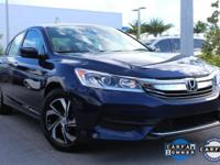 Accord LX and Obsidian Blue Pearl. You Win! Yeah baby!