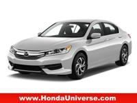 REDUCED FROM $19,988!, FUEL EFFICIENT 37 MPG Hwy/27 MPG