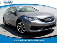This outstanding example of a 2016 Honda Accord Coupe