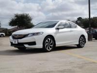 We are excited to offer this 2016 Honda Accord Coupe.