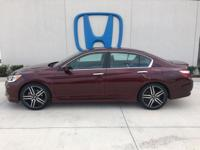Check out this certified 2016 Honda Accord Sedan Sport.