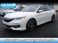 2016 Honda Accord Sport CLEAN CARFAX ONE OWNER, POWER,