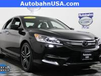 2016 Honda Accord Sport. STILL UNDER MANUFACTURER'S