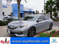 Options:  2016 Honda Accord Sport|This Vehicle Has A