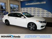 Recent Arrival! This 2016 Honda Accord Sport in White