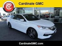 CARFAX One-Owner. White Orchid Pearl 2016 Honda Accord
