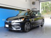 CARFAX One-Owner. Clean CARFAX. Gray 2016 Honda Accord