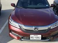 2016 Honda AccordClean CARFAX. 35/26 Highway/City