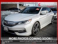 Options:  2016 Honda Accord Sport White 19 Alloy
