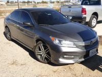 Options:  2016 Honda Accord Sport W/Honda Sensing|The