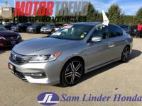 Options:  2016 Honda Accord Sport W/Pedigree|Advertised