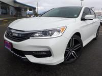 Options:  2016 Honda Accord Sport|White|160-Watt