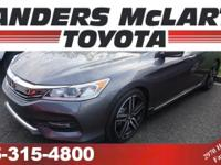 This 2016 Honda Accord Sedan is proudly offered by