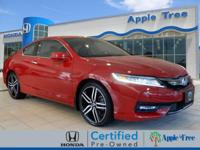 You'll love getting behind the wheel of this 2016 Honda