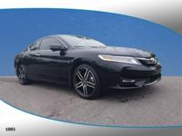 Recent Arrival! This 2016 Honda Accord Touring in Black