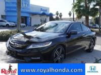 Options:  2016 Honda Accord Touring|This Vehicle Has A