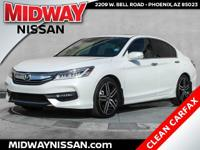 2016 Honda Accord Touring White Orchid Pearl 3.5L V6