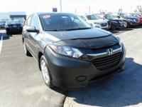 CARFAX One-Owner. Clean CARFAX. Gray 2016 Honda HR-V LX