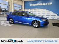Recent Arrival! This 2016 Honda Civic EX in Cosmic Blue