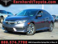 We are thrilled to offer you this 1-OWNER 2016 HONDA