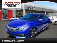 This 2016 Honda Civic Coupe EX-L is offered to you for