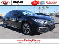 CARFAX One-Owner. Clean CARFAX. Black 2016 Honda Civic