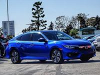 CARFAX One-Owner. Clean CARFAX. Blue 2016 Honda Civic
