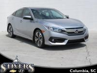 2016 Honda Civic EX-L Silver CARFAX One-Owner. Clean