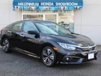 This Honda Certified Civic Sedan 4dr CVT EX-T  has been