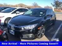 Recent Arrival!  2016 Honda Civic EX-T 4D Sedan FWD CVT