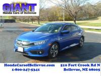 This 2016 Honda Civic Sedan Sedan EX-T is proudly