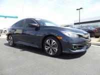Come see this 2016 Honda Civic Sedan EX-T. Its Variable