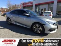This 2016 Honda Civic EX-T has 13,318 miles! It is