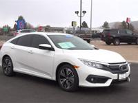 Civic EX-T w/Honda Sensing, Honda Certified, 4D Sedan,