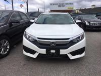 Drive away with this beautiful 2016 Honda Civic. Down