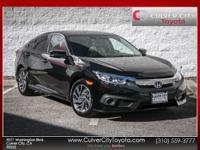 Options:  2016 Honda Civic Ex|Purple|Carfax One