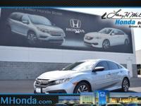 Win a score on this certified 2016 Honda Civic Sedan EX