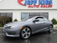 This outstanding example of a 2016 Honda Civic Coupe LX