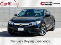 HONDA CERTIFIED, CLEAN CARFAX, ONE OWNER. MANUAL