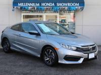 This Honda Certified Civic Coupe LX is Priced Below the
