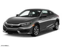 Introducing the 2016 Honda Civic! It comes equipped