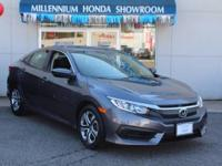 This Honda Certified Civic Sedan 4dr CVT LX  has been