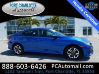 CARFAX One-Owner. Clean CARFAX. Certified. Blue 2016