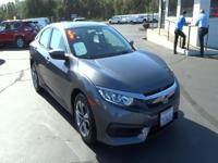 Introducing the 2016 Honda Civic! Both practical and